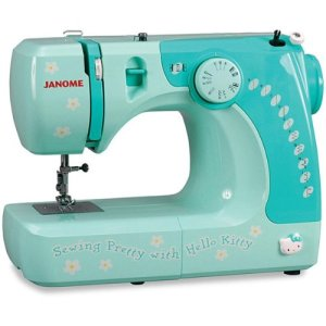 Janome 11706 3-4 Size Hello Kitty Sewing Machine