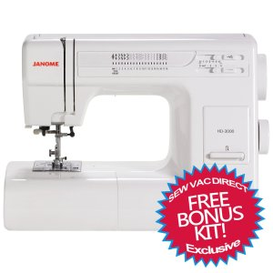 Janome HD3000 Heavy Duty Mechanical Sewing Machine